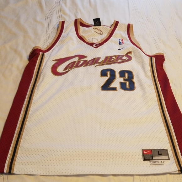 more photos dbbb5 9ca0c LeBron James Rookie JERSEY CLEVELAND CAVALIERS